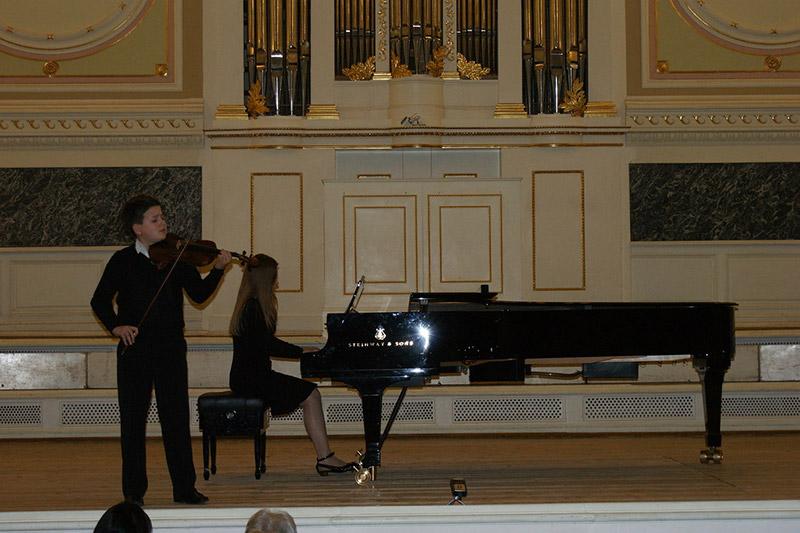 Отчётный концерт Детской школы искусств им. П.А.Серебрякова   16 апреля 2014 г.