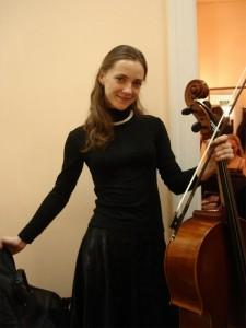 Евгения Тиунова - артистка оркестра Музыкального театра для детей и взрослых «Карамболь»